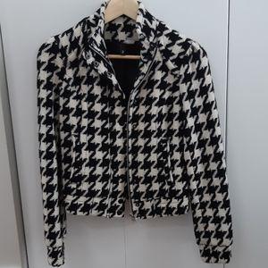 Vintage H&M zip wool blazer